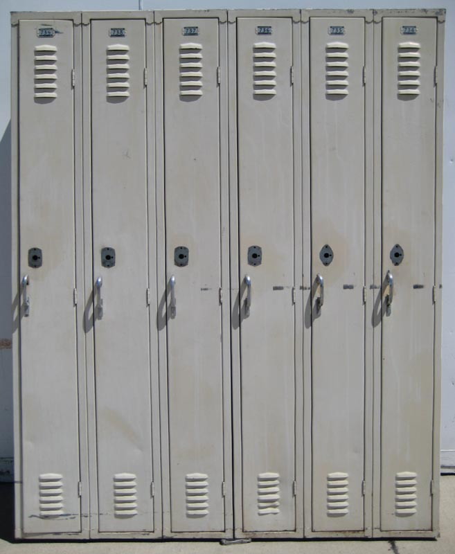 Used School Hall Lockers